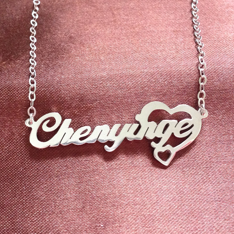 d4de38c1a8db5 Custom Name Necklace, Personalized Name Necklace, Any Name Necklace ...