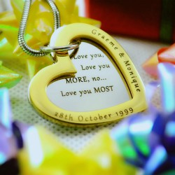 Personalised Heart Jewellery