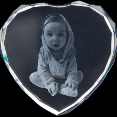 Photo Engraved Crystals In Custom Made Shapes - Custom Jewellery By All Uniqueness