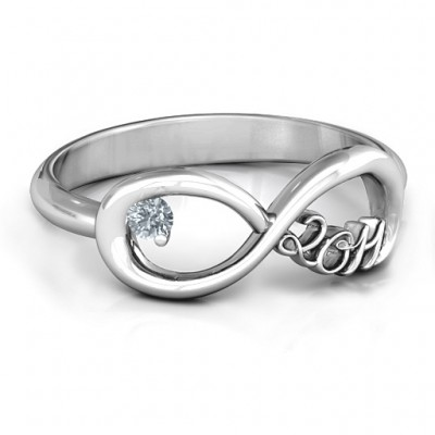 2011 Infinity Ring - Custom Jewellery By All Uniqueness