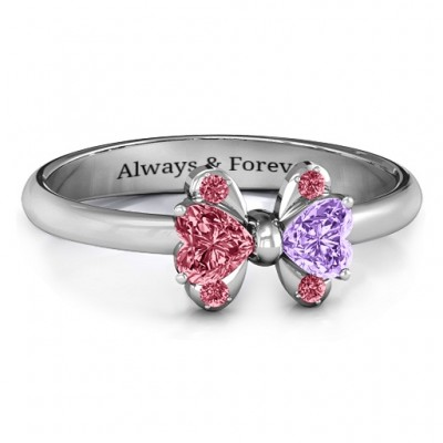 Beauty And The Bow Ring - Custom Jewellery By All Uniqueness