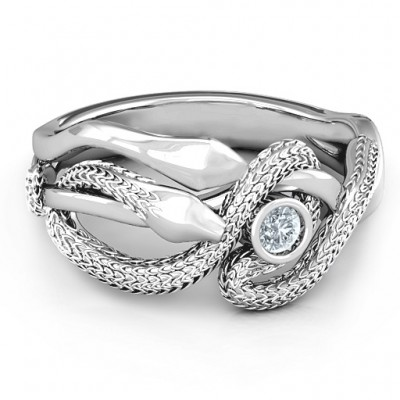 Guardian Snake Ring - Custom Jewellery By All Uniqueness
