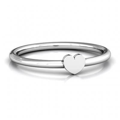Heart Stackr Ring - Custom Jewellery By All Uniqueness