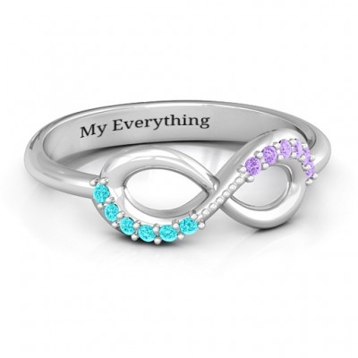 Infinity Accent Ring - Custom Jewellery By All Uniqueness