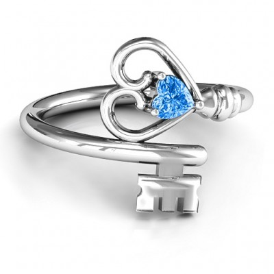 Key to Her Heart Ring - Custom Jewellery By All Uniqueness