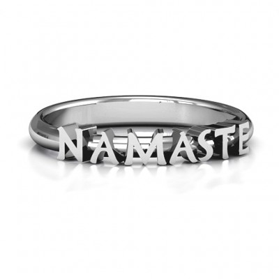 Namaste Ring - Custom Jewellery By All Uniqueness