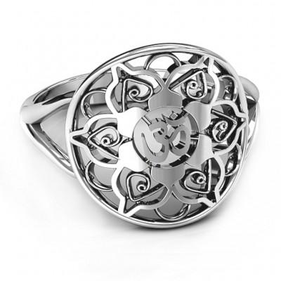 Om Mandala Ring - Custom Jewellery By All Uniqueness