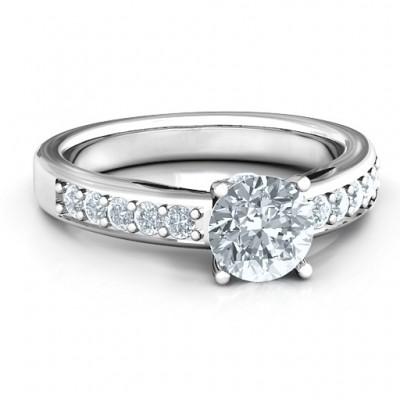 Peekaboo Ring - Custom Jewellery By All Uniqueness
