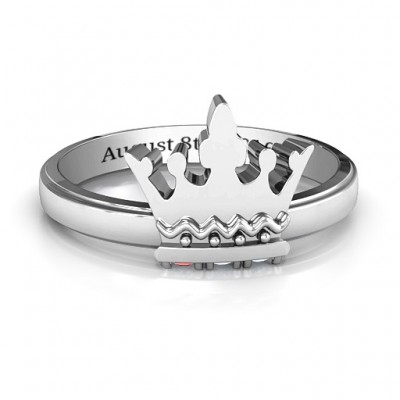 Royal Family Princess Tiara Ring - Custom Jewellery By All Uniqueness