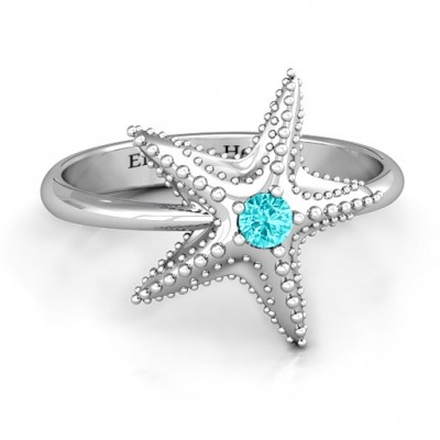 Starfish Ring - Custom Jewellery By All Uniqueness