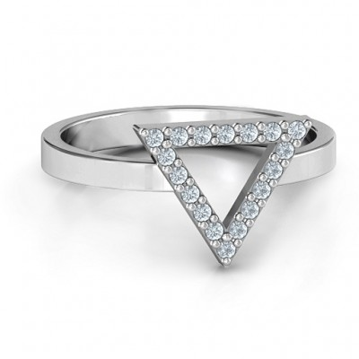 Your Best Triangle with Accents Ring - Custom Jewellery By All Uniqueness