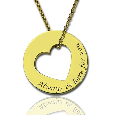 Always Be Here For You Promise Necklace - Custom Jewellery By All Uniqueness