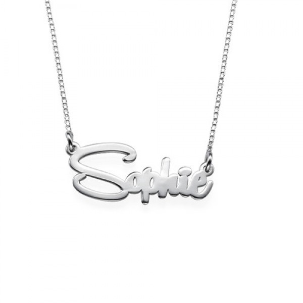 c7aa61c12 Say My Name Necklace - Custom Jewellery By All Uniqueness