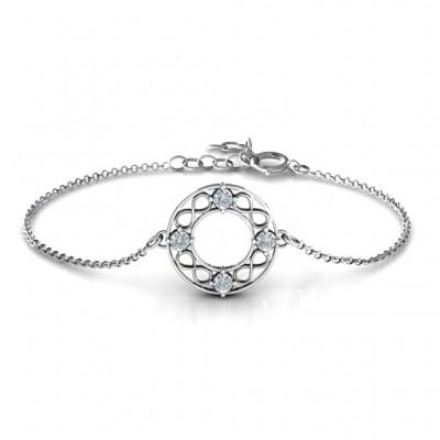 Circular Infinity Bracelet - Custom Jewellery By All Uniqueness