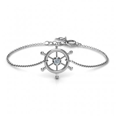 ani i celestial wheel bracelet nwt bangle and charm scorpio box alex gold