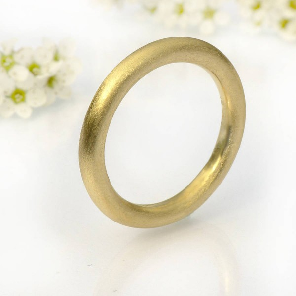 Mens Halo Wedding Ring, Gold - Custom Jewellery By All Uniqueness