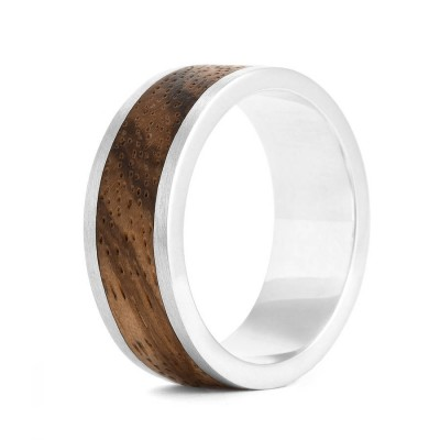 Wood Ring Native Chunk - Custom Jewellery By All Uniqueness