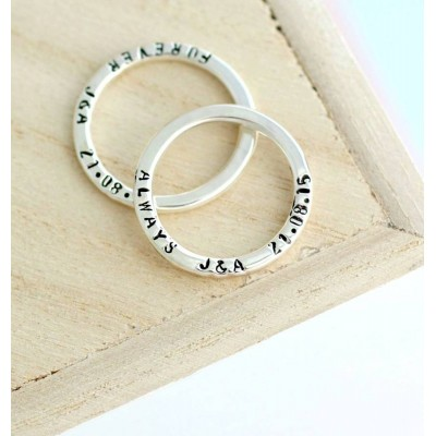 Message Ring - Custom Jewellery By All Uniqueness