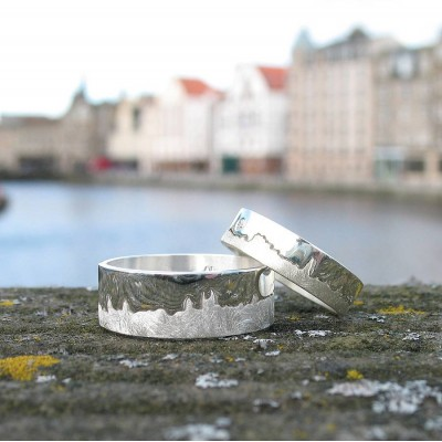 City Skyline Ring - Custom Jewellery By All Uniqueness