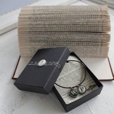 Vintage Letter Necklace - Custom Jewellery By All Uniqueness