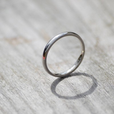 Gold Wedding Band Wedding Ring - Custom Jewellery By All Uniqueness