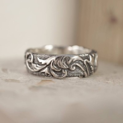 Victorian Scroll Ring - Custom Jewellery By All Uniqueness